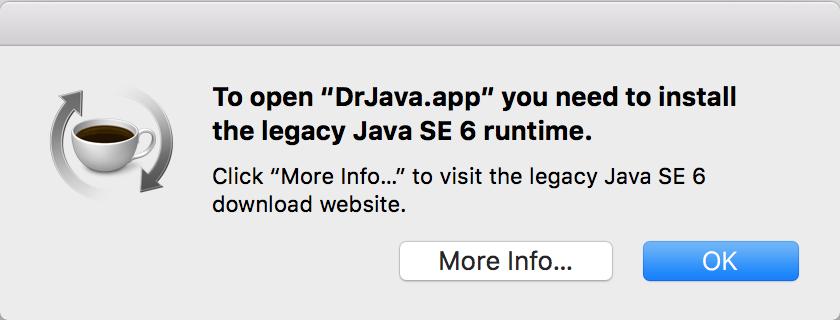 Hello World in Java on Mac OS X